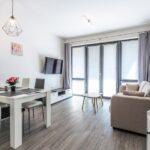 Obývací pokoj apartmánu Adina 2