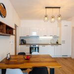 Kuchyňský kout apartmánu Adina 3 v komplexu Ski Chalet Klínovec